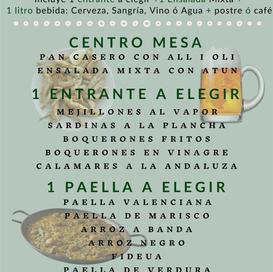 menu arrocero