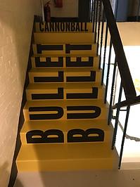 Temporary Stair Graphics