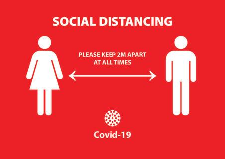 Social Distancing Poster