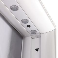 PVC SEG lightbox star connecting