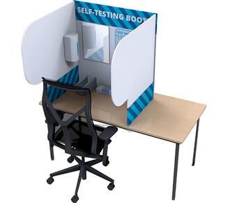 Desktop Self Testing Booth