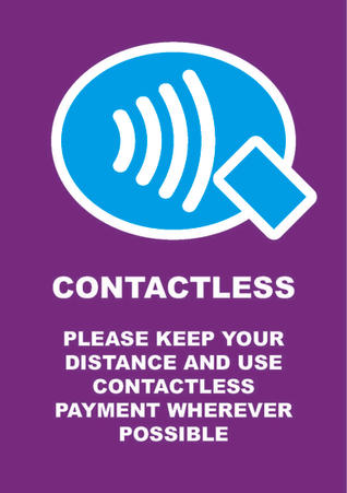 Contactless Poster
