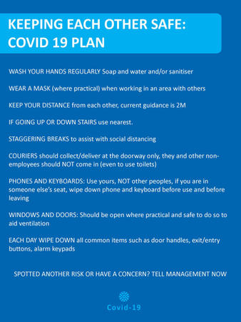 Covid Plan Poster