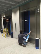 Lift Door Vinyls
