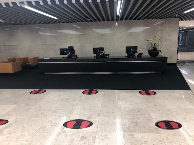 Reception Floor Circles