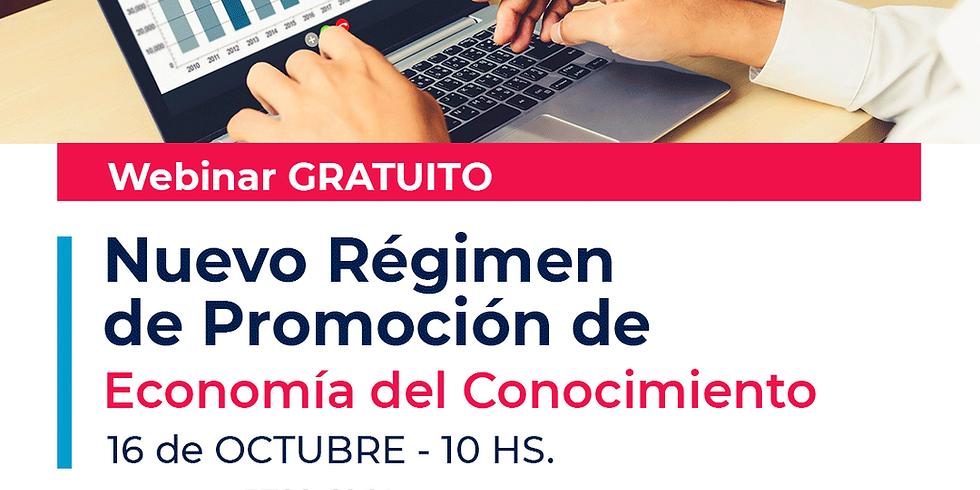 El nuevo Régimen de Promoción de la Economía del Conocimiento.