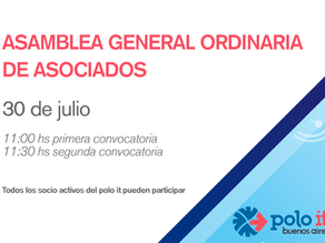 CONVOCATORIA ASAMBLEA GENERAL ORDINARIA DE ASOCIADOS