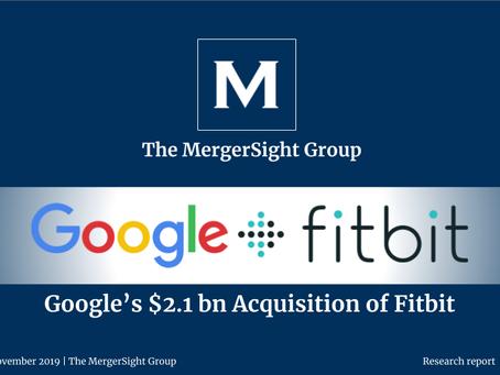Google's $2.1 billion Acquisition of Fitbit