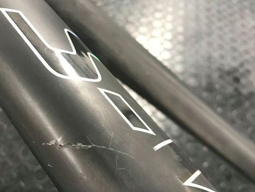 S-Works Tarmac | Repair and Custom Downtube Logo