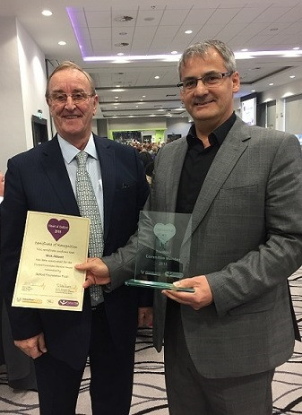 Tony and Nick Heart of Salford Awards 20