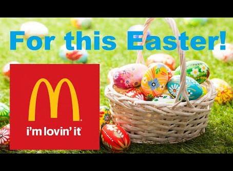 McDonalds Easter Hampers