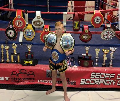 Kyle's incredible Muay Thai winning record