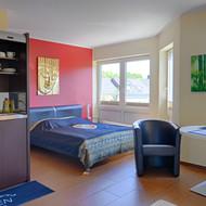 Boarding Bonn Wohn- & Schlafzimmer
