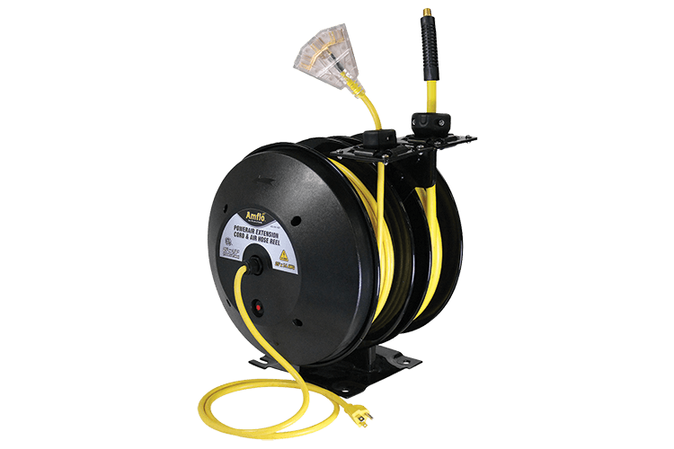 2 in 1 Open Hybrid Hose and Cord Reel