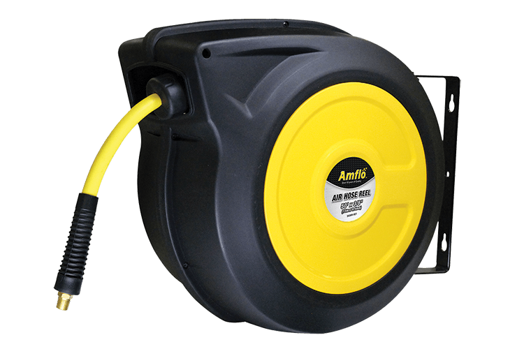 "3/8"" x 50 ft Ultra Pro Enclosed Hybrid Hose Reel"