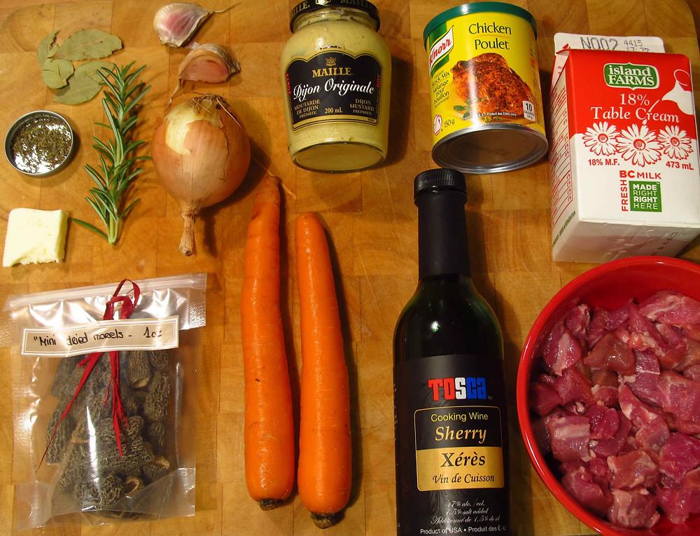ingredients-chanterelle-creme