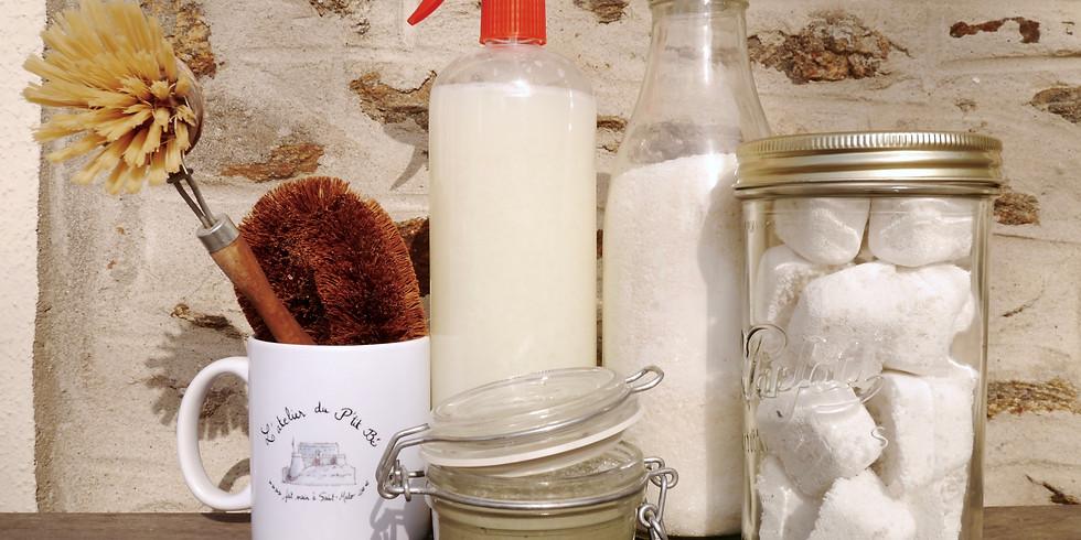 Set de produits d'entretien pour la maison - Spécial Semaine du Développement Durable