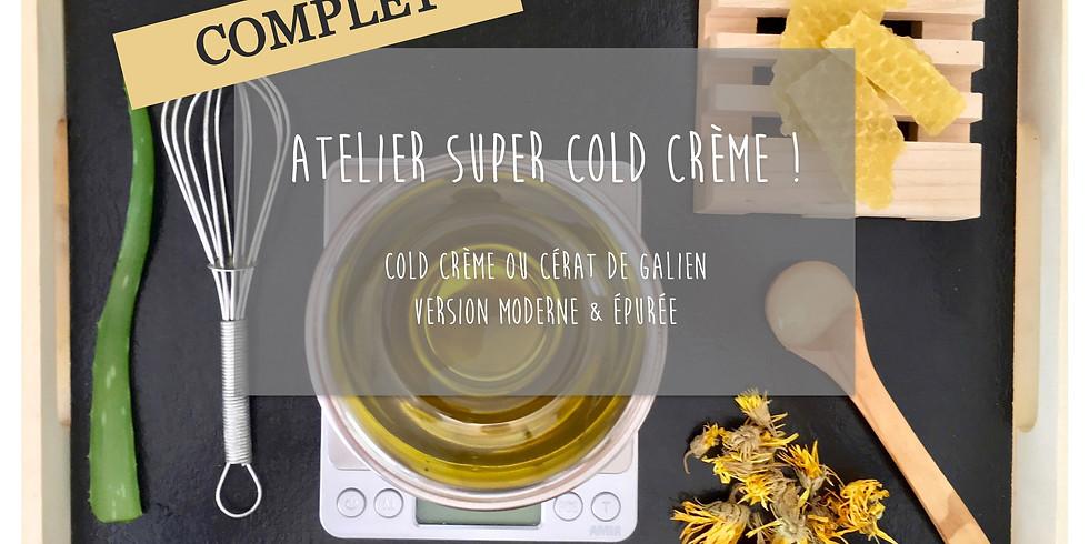 Atelier Super Cold Crème ou Cérat de Galien