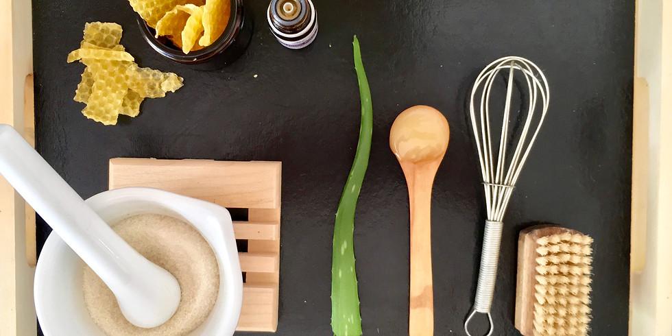 Atelier Crème pour les mains, Baume à lèvres & Gommage au sucre