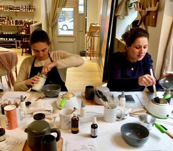 Atelier Cosmétique Bretagne Porduits bébé naturels DIY