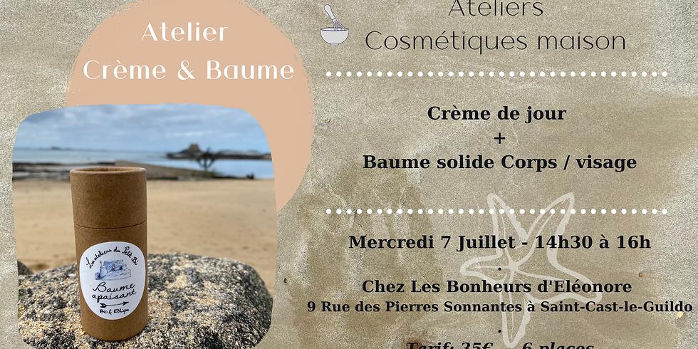 Atelier Crème hydratante & Baume solide pour le corps et le visage