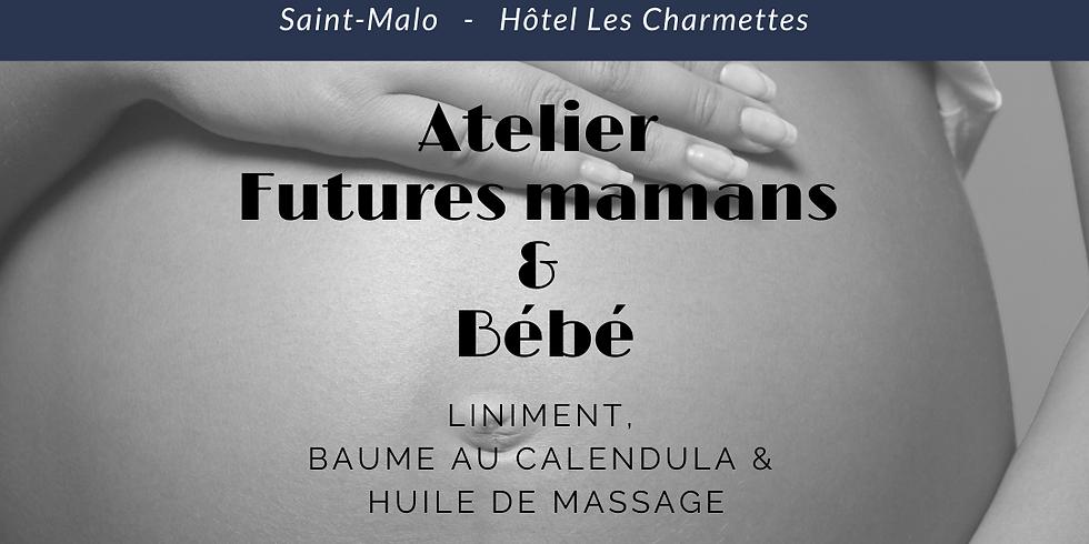 Atelier Maman & Bébé: Liniment + Baume apaisant + Huile de massage