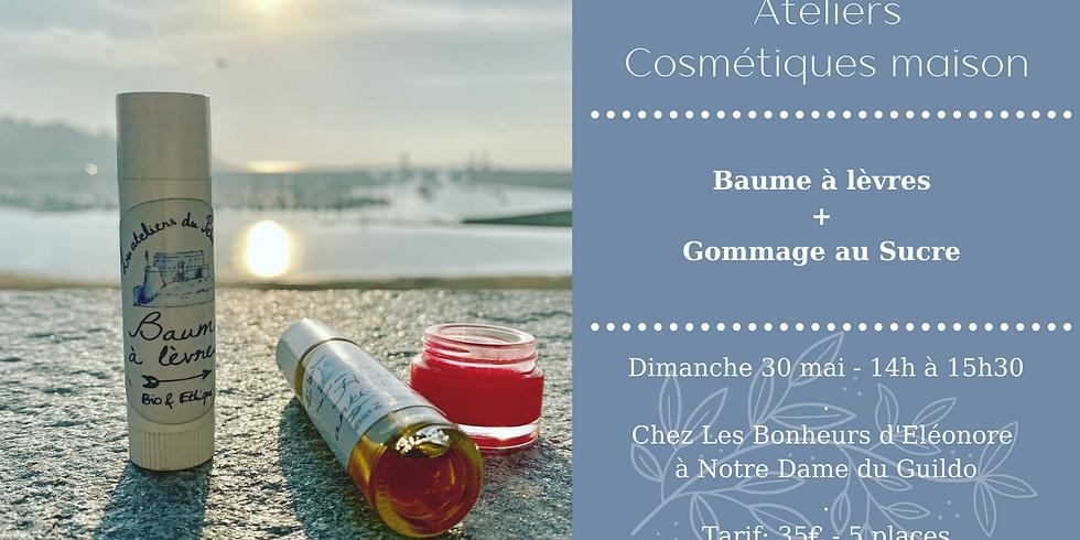 Atelier Baume à lèvres (teinté ou pas!) + Gommage au sucre