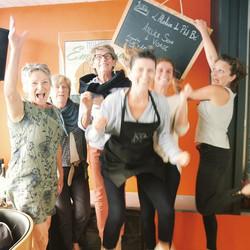 L'atelier Soin du visage c'était hier à _la_trinquette_du_yacht_club de #saintmalo ! Merci les Fille