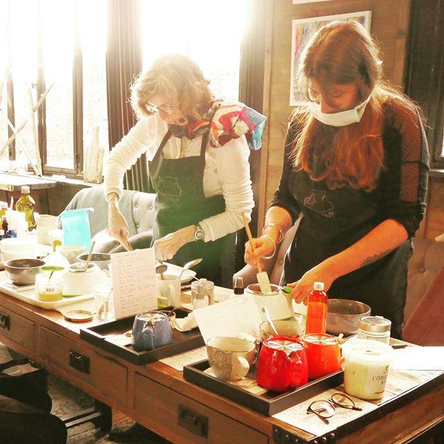 Atelier Shampoings Solides chez _villa_esprit_de_famille_Encore un super moment passé en très bonne