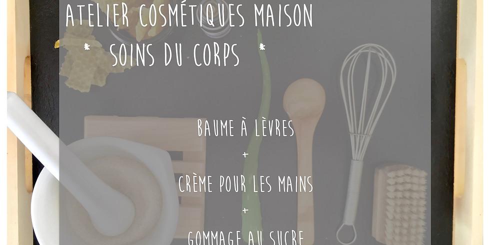 Atelier Soins du Corps: Crème pour les mains, Baume à lèvres & Gommage au sucre