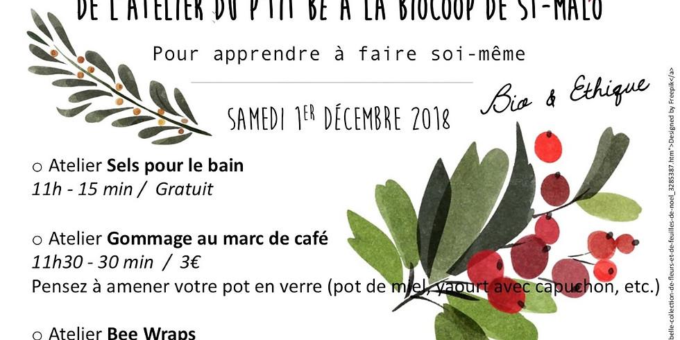 Atelier Spécial Marché de Noël - Baume à lèvres
