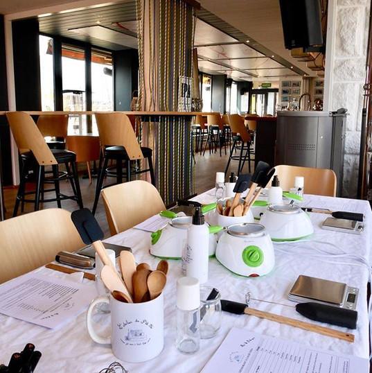Atelier Cosmétique Bretagne La Trinquette Yacht Club St Malo