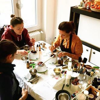 Atelier cosmétiques - Atelier privé