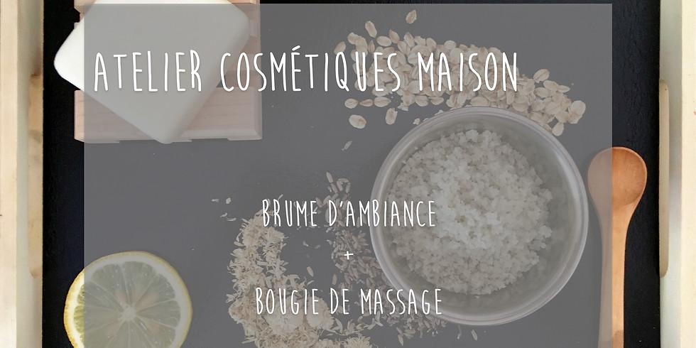 Atelier Bougie de massage + Brume d'ambiance