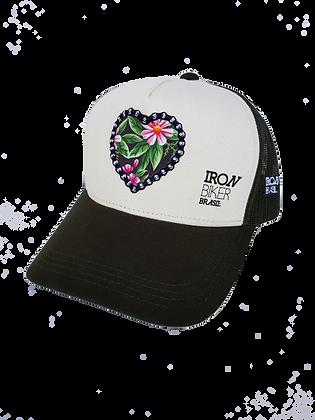 Cap Truck Iron Biker - FLOWER