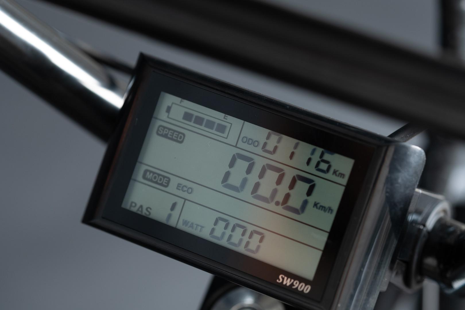 Painel de controle em LED
