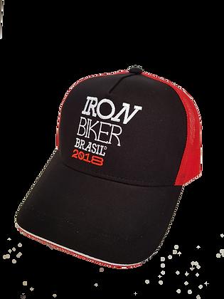 Boné Oficial Iron Biker Black 2018