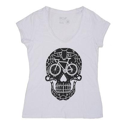 Camiseta Street wear Caveira Mexicana