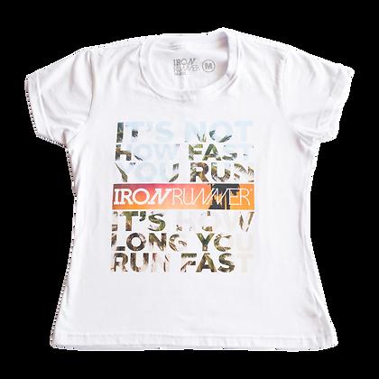 cópia de Camiseta Street wear masculina Runner - HOW FAST