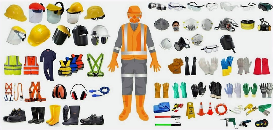 SAFETY AND PROTECTION GEARS