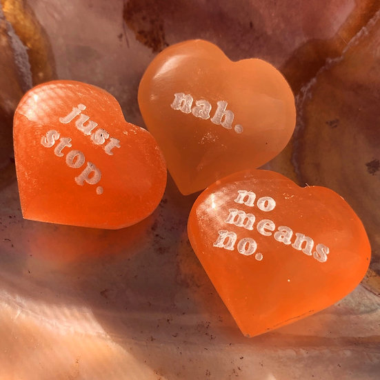 Sweet N' Sour Crystal Hearts
