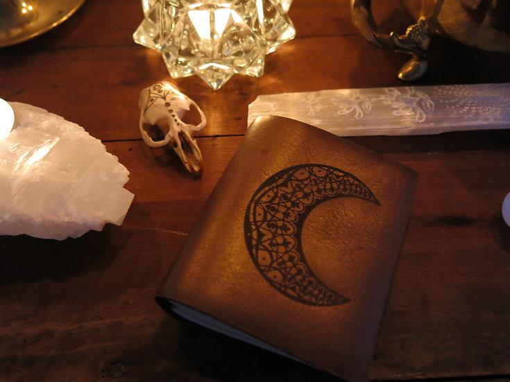Moon Magik Travel Sketchbook in Bronze
