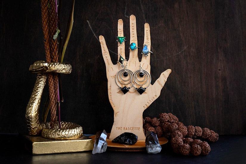 Palm Reader's Ring Holder