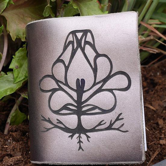 Magnolia Travel Sketchbook in Silver