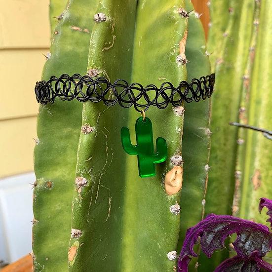 Cactus Queen Choker