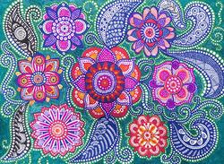 Zentangle Flowers 2016