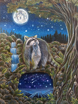 The Invitation (Raccoon Spirit)