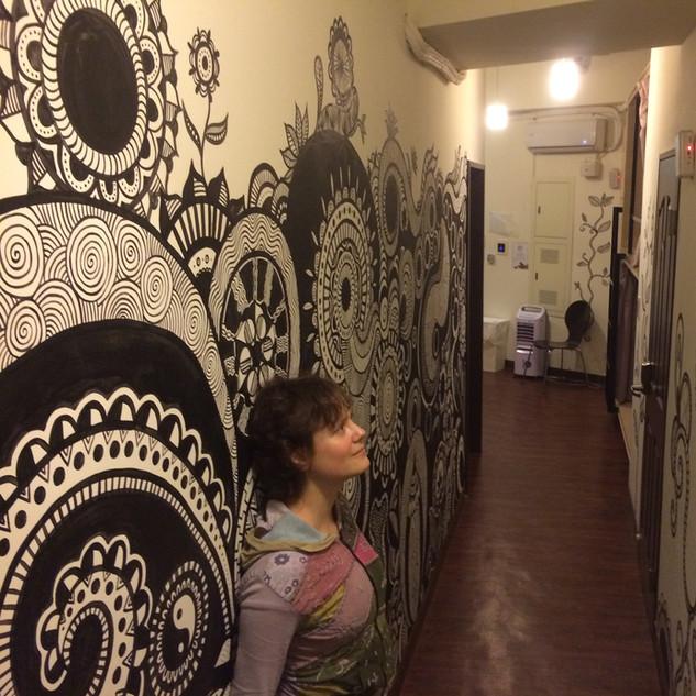 Zentangle Corridor 5