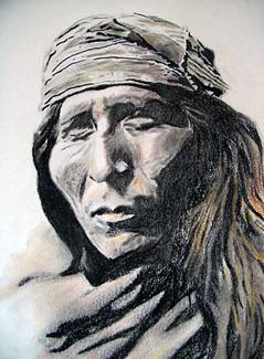 Native American Portrait, 2009
