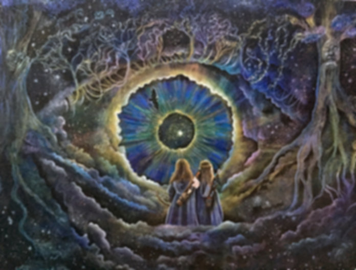 Great Mystery - Visionary Art by Verena Wild